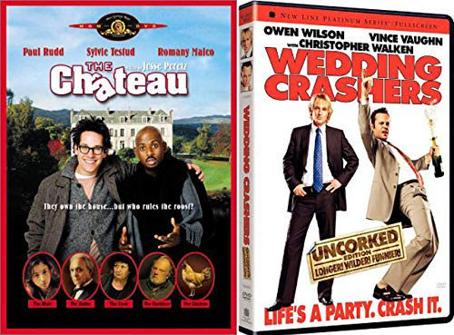 Comedy Fun with Dane Cook and Owen Wilson - The Chateau & Wedding Crashers (Uncorked Longer, Wilder, Funnier Edition) 2-DVD Bundle