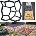 Diy Garden Plastic Path Paving Brick Mould Patio Maker Concrete Mold Stepping Cement Stone Road Pathmate Auxiliary Tool
