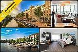 Reiseschein Viaje Faros–3días a romántica en 4* * * * Grand Hotel Amsterdam lveen Cerca Amsterdam Erleben–Hotel cupones de cupones kurzreise Viajes Viaje Regalo