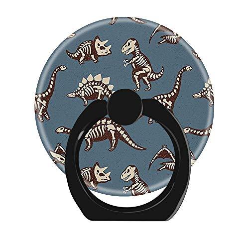 Vinger Ring Stand,2 Pack 360 graden Rotatie Mobiele Telefoon Ring Houder Telefoon Ring Grip voor iPhone,Samsung Galaxy, Smartphones en Tablet Telefoon Case-Dinosaurs Patroon Dino Cool