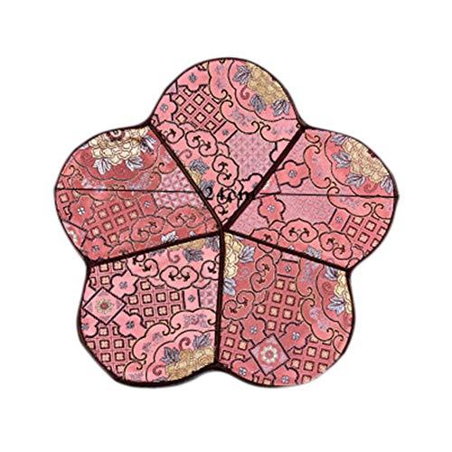 Goddness Bar Tapis de Plateau de thé en Tissu décoratif Coaster Retro Pad Tapis (Style 12)