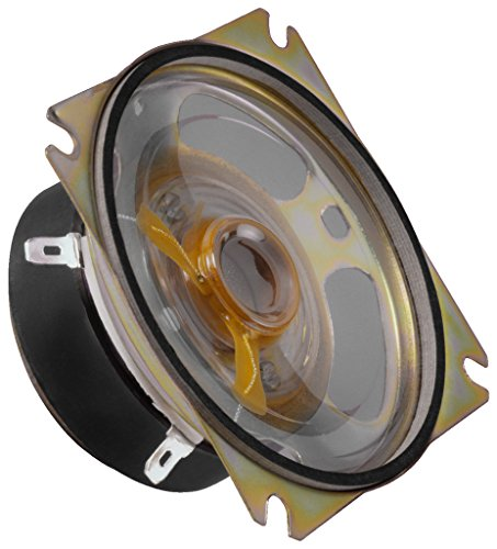 MONACOR SP-15 Spezial-Lautsprecher, 10W, 8 ohm, schwarz