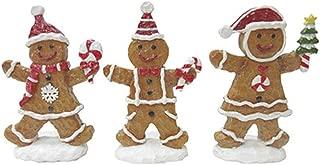 Darice Christmas Gingerbread Figurine 3 Assorted Styles
