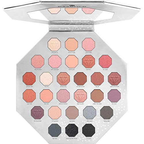 essence supreme party eyeshadow palette Smokey & Nude - 1er Pack
