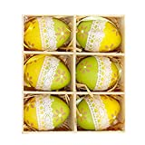 Huevos De Pascua Decorativos Adornos Colgantes De Huevos, Huevos Artificiales Con Manchas Decoración De Pascua Decoración De Cocina Para Adultos Niños Y Niñas Suministros De Manualidades Para Fiestas
