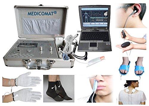 diabetes-Therapie-apparaat Medicomat-291K Health Check en behandeling koude laser therapie acupunctuur sokken en handschoenen maat M