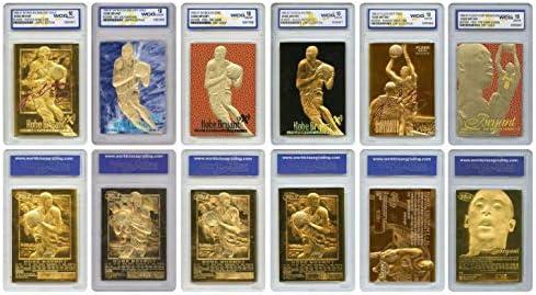 Kobe Bryant Mega Deal Licensed ROOKIE Cards Graded Gem Mt 10 SET OF 6 MUST SEE product image