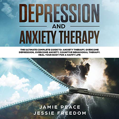 Depression and Anxiety Therapy: 4 Books in 1 cover art