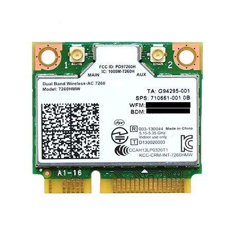 デュアルバンド 高速 Wi-Fi 通信Band Wireless-802.11 AC chipset controller 最大リング867 Mbps+ Bluetooth 4.0 無線LANカード…