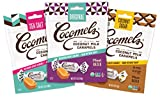 Cocomels Coconut Milk Caramels, Original, Sea Salt, and Coconut Sugar, Organic Candy, Dairy Free, Vegan, Gluten Free, Non-GMO, No High Fructose Corn Syrup, Kosher, Plant Based, (Variety 3 Pack) by Cocomels