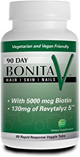 Sponsored Ad - Essential Source Bonita V - Fuller Hair, Younger Skin, Stronger Nails - Vegetarian - 90 Tablets