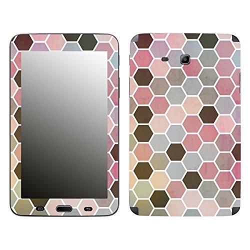 'Disagu SF 105977_ 1204Designer Skin Case Cover For Samsung Galaxy Tab 3Lite SM-T110–Polygons 01Clear