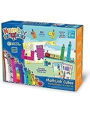 Learning Resources LSP0949-UK Numberblocks MathLink Cubes 1-10 zestaw aktywności, nauka matematyki, budować, uczyć się i bawić w klasie i w domu, wiek 3+