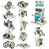 Laelr Spielzeugen Solarroboter Kit 13 in-1-Sets Wissenschaft Lernwissenschaftliches Bauspielzeug von...