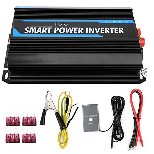 Longzhou 100% 6000W 12V to 220V Pure Sine Wave Power Voltage Inverter...