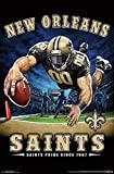 New Orleans Saints - End Zone Poster Drucken (55,88 x 86,36