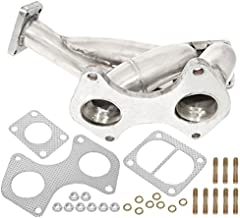 Ajp Distributors 13B-Rew Stainless Steel Turbo Exhaust Manifold With Wastegate Flange For Mazda Rx7 Fd Fd3S R2 1.3 Liter