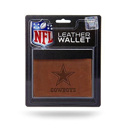 NFL Arizona Cardinals Geldbörse aus Leder, dreifach faltbar, mit künstlicher Innenseite, Fan-Shop, NFL Rico Dallas Cowboys Lthr/Manmade Trifold, Teamfarbe, 3.25 x 4.25-inches