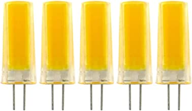 Led Bulbs, G4 LED Bulb Bin-pin COB LED Light Bulb 3W(30W Halogen Equivalent) 260 Lumens AC220V 230V(Pack of 5) led lights ...