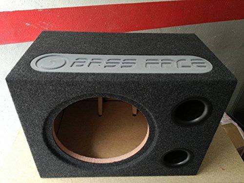 BASS FACE BOX vuoto per Subwoofer 30 cm in cassa reflex sub auto incassato BR12-60 sub auto incasso