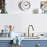 MORCART - 1 adhesivo para azulejos, 3D, impermeable, para cocina, baño, 12 x 12 pulgadas (estilo 06)