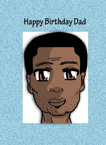 Sky Blue Greetings verjaardagskaart voor vader (Happy birthday dad