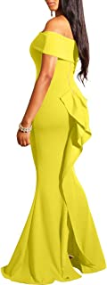Best yellow long dress Reviews