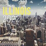 Illinois Calendar 2022: Calendar 2022 with 6 Months of 2021 Bonus