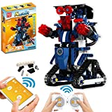 STEM Building Blocks Robot for Kids- Remote Control Engineering Science Educational Building Toys Kits for 8,9-14 Year Old Boys and Girls (A1002)