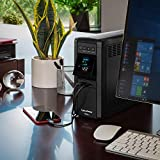 Photo #10: CyberPower CP1500PFCLCD Sinewave UPS Battery Backup Surge Protector Mini Tower, 12-Outlets [1500PFCLCD]