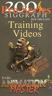 Siggraph 2000 Animation Master Training Videos