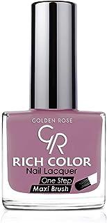 طلاء اظافر من جولدن روز , اللون البنفسجي رقم 104