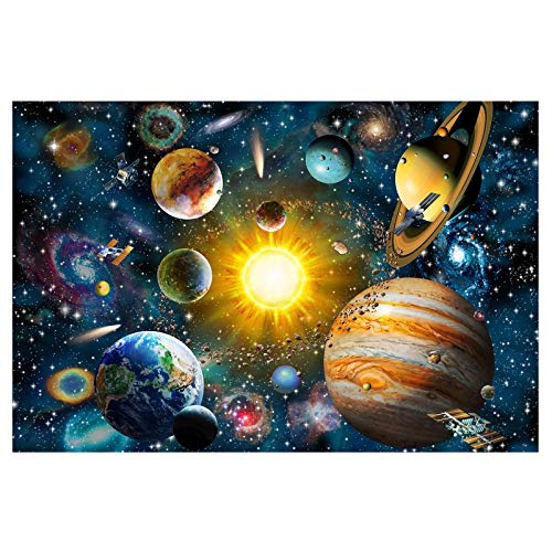 Caremoo Jigsaw Puzzle 1000 Pieces for Adults- Outer Space - Wooden Jigsaw Puzzle for Adults Teens Puzzle Game Toy Gift