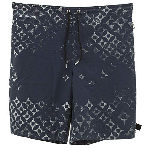 Replay, Beachwear, Herren Kurze Shorts Badeshorts Sport Freizeitshorts, Microfaser, blaugrau, M [22118]