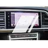 BIXUAN Protector de pantalla para Seat Ateca 2021, protector de pantalla transparente 9H, antihuellas dactilares, 8 pulgadas