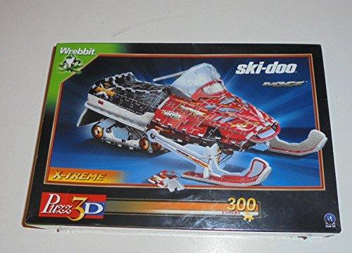 Puzz 3D 293 Teile - ski-doo MXZ Schneemobil ca. 30 cm