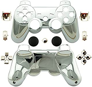Canamite Replacement Parts Full Controller Housing Shell Protective Case Cover Button Kit for PlayStation 3 DUALSHOCK 3 Controller