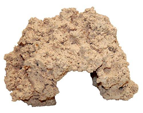 ARKA Aquatics Riffkeramik Höhle - aus 100% natürlichen Rohstoffen, Schadstofffrei, sehr hohe Porösität, Made in Germany, (20 cm)