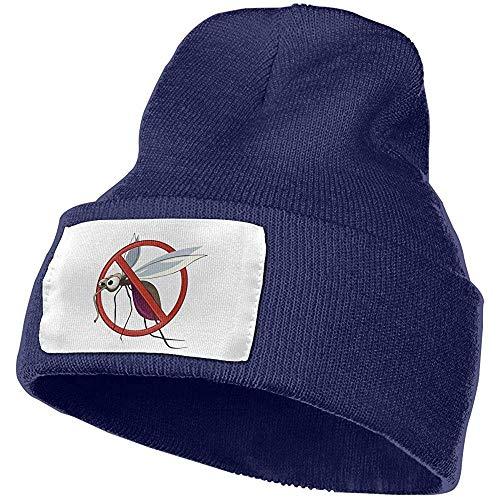 Dale Hill Beanie Hat Prohibir Mosquito Unisex con puño Llano Cráneo Sombrero de Punto Gorra Gorra de Cabeza