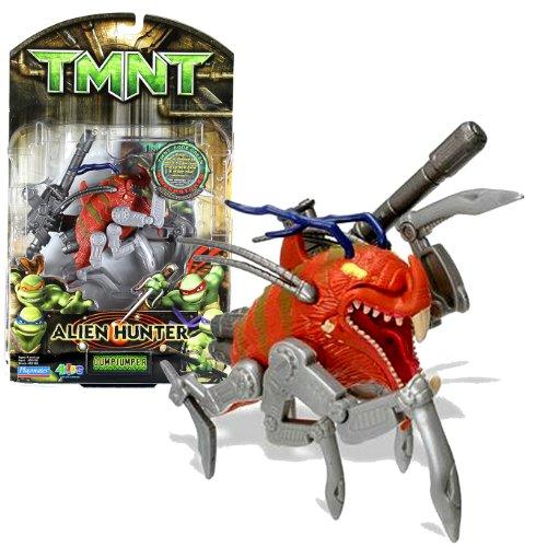 Playmates Year 2007 Teenage Mutant Ninja Turtles TMNT Alien Hunter Series 4-1/2 Inch Long Action Figure - DUMPJUMPER with Blaster Rifle
