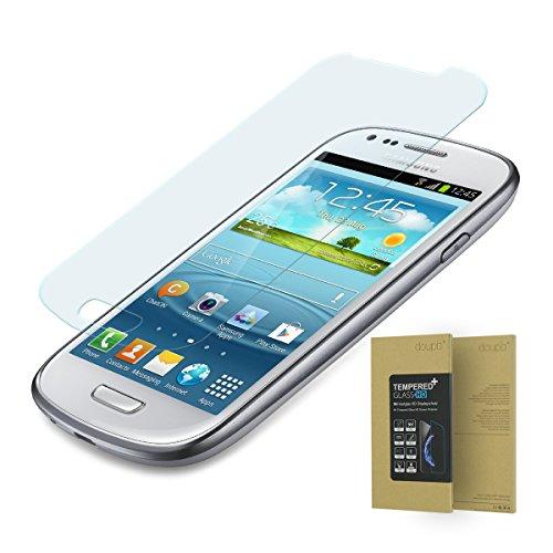 doupi Pellicola Vetro Temperato per Samsung Galaxy S3 Mini, Premium 9H HD Protettiva Protezione dello Schermo Tempered Glass
