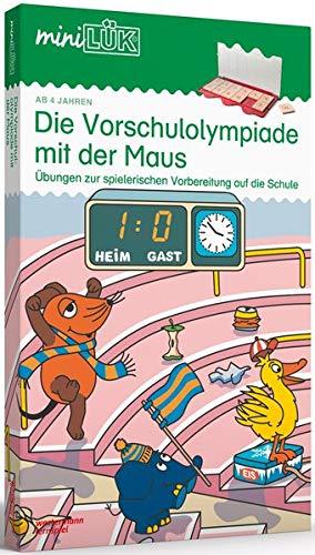 miniLÜK-Sets: miniLÜK-Set: Kindergarten/Vorschule: Die Vorschulolympiade mit der Maus