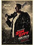 XIANGLE Leinwand Poster Sin City Filmplakat Malerei Papier
