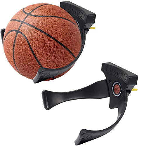 2 Stück Ballhalter Ball Wandhalterung Sportball Halter Display Wandmontage für Fußball Fußball Basketball Volleyball, Sport Geschenk zu Weihnachten