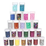 Xshelley Glitter Shakers for Children Kid's Craft Activities,Arts & Crafts Glitter,Card...