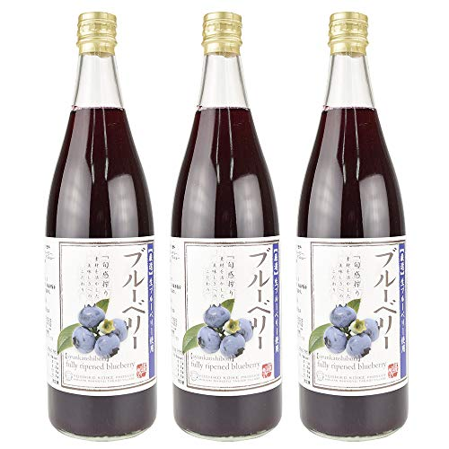 国華園 ブルーベリージュース 3本 お中元 ギフト