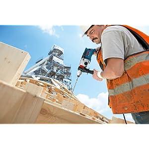 Bosch Professional Schlagbohrmaschine GSB 21-2 RCT (Bohr-Ø in Beton: 13 - 22 mm, 1.300 Watt, Schnellspannbohrfutter: 13 mm, Tiefenanschlag: 210 mm, Zusatzhandgriff, im Koffer)