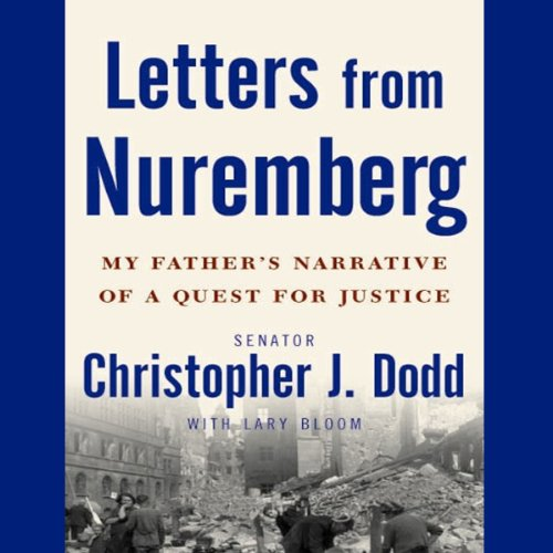 Letters from Nuremberg audiobook cover art
