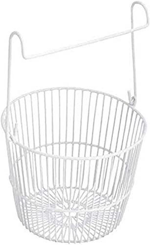 L.T. Williams 1019 Peg Round White Basket