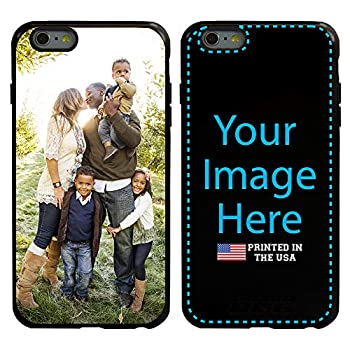 Guard Dog Custom iPhone 6 Plus / 6s Plus Cases - Personalized - Make Your Own Protective Hybrid Phone Case  Black Black